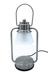 NEW Silver Mini Electric Candle Warmer Lantern Lamp 35w - Candles Sniffs & Gifts