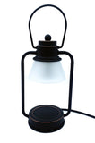 NEW Vintage Black Mini Electric Candle Warmer Lantern Lamp 35w - Candles Sniffs & Gifts