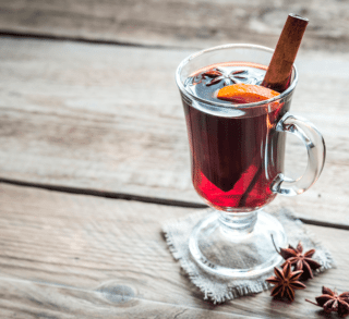 Mulled Wine Christmas Wickless Jar - Candles Sniffs & Gifts