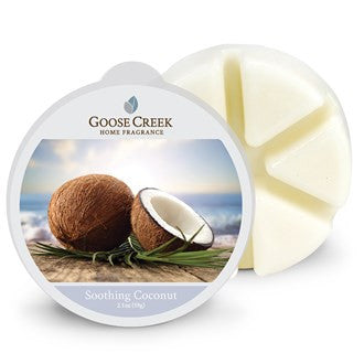 Soothing Coconut Goose Creek Scented Wax Melts - Candles Sniffs & Gifts