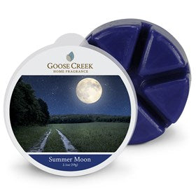 Summer Moon Goose Creek Scented Wax Melts - Candles Sniffs & Gifts