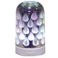 3D Teardrop Ultrasonic Electric Diffuser - Candles Sniffs & Gifts