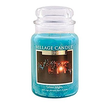Limited Edition Village Candle Urban Night Large Jar 26oz 1219g - Candles Sniffs & Gifts