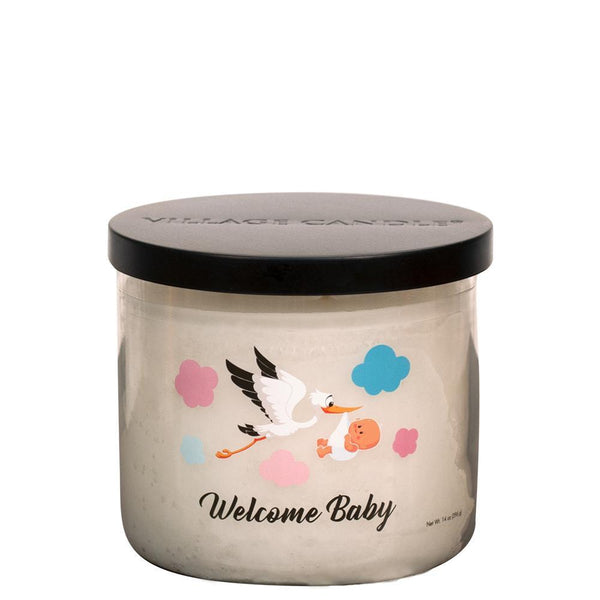 NEW Village Candle Welcome Baby Tumbler - Candles Sniffs & Gifts