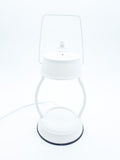 White Electric Candle Warmer Lantern Lamp 35w - Candles Sniffs & Gifts