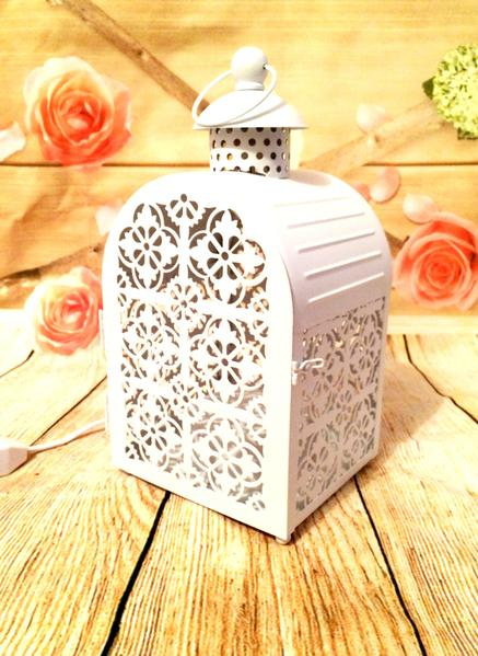 Wholesale White Cage Candle Warmer Lamp 35w - Candles Sniffs & Gifts