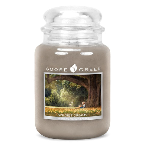 Wildest Dreams Goose Creek 24oz Large Candle Jar - Candles Sniffs & Gifts