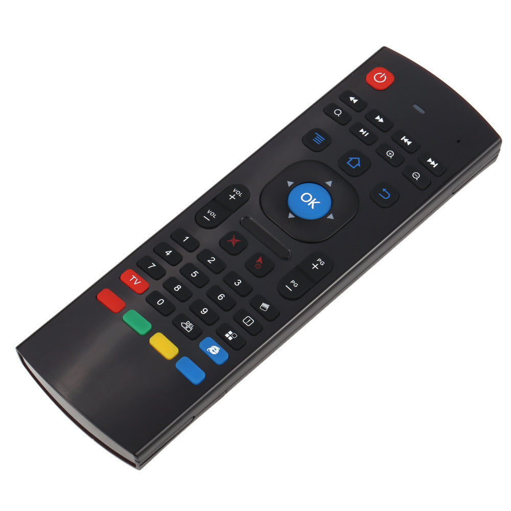 ccdb73641d1 ... TV Box HTPC PC. 2.4G Remote Control Gyroscope Fly Air Mouse Mini Wireless  Keyboard Handheld IR Learning for Android