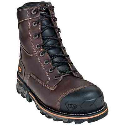 "TIMBERLAND PRO - Men`s Boondock 8"" Soft Toe Work Boots - 89635"