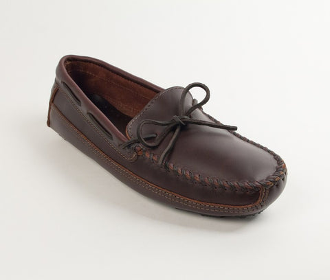 Minnetonka - DOUBLE BOTTOM DRIVER DARK BROWN - 948