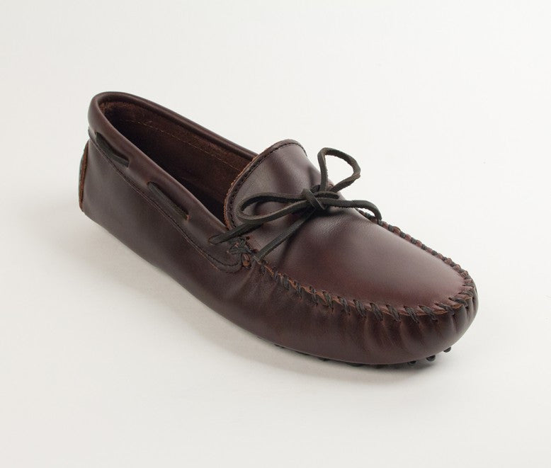 Minnetonka - CLASSIC DRIVER DARK BROWN - 798
