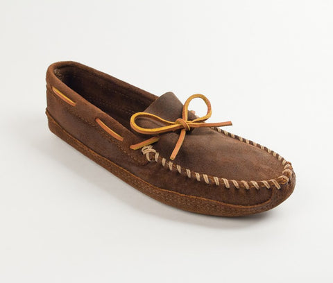 Minnetonka - DOUBLE BOTTOM SOFTSOLE BROWN RUFF - 723