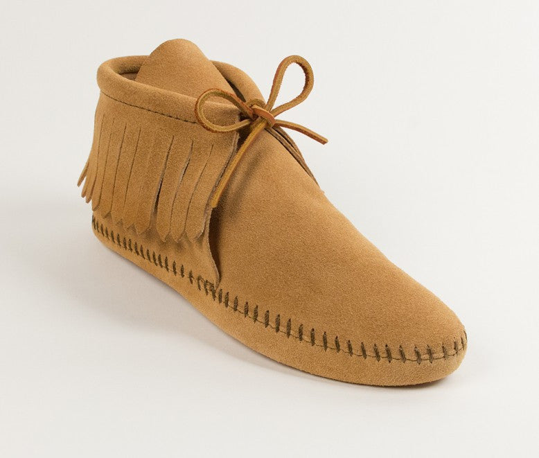 CLASSIC FRINGE SOFTSOLE BOOT TAN - 481