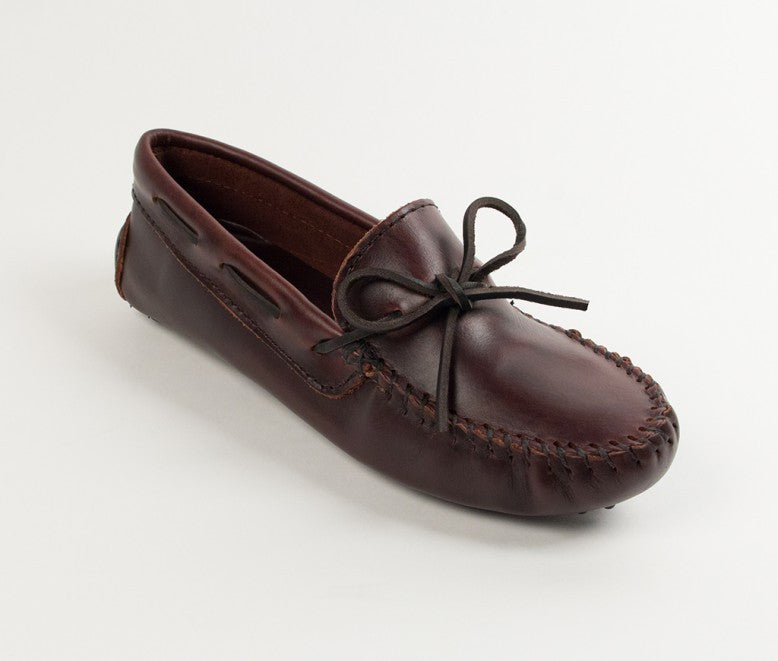 Minnetonka - CLASSIC DRIVER DARK BROWN - 698