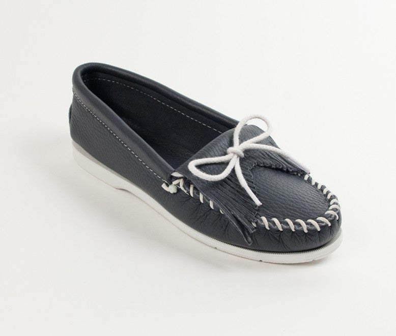 Minnetonka - UNBEADED KILTY NAVY - 209
