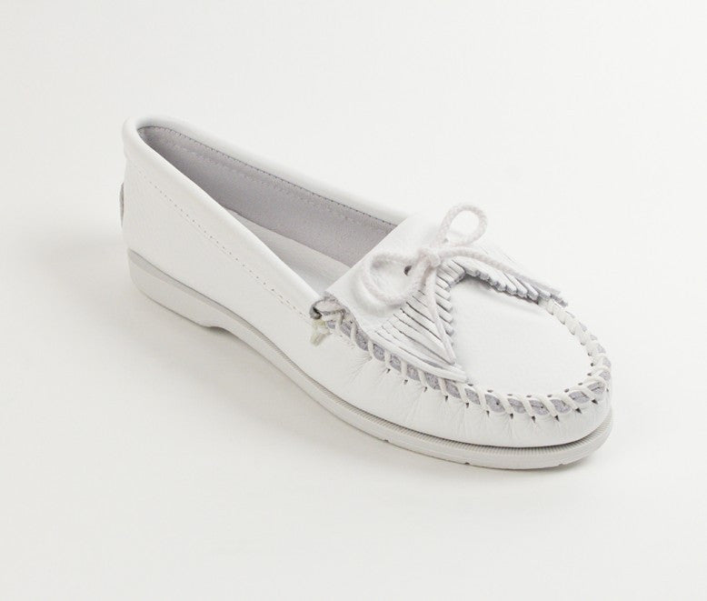 Minnetonka - UNBEADED KILTY WHITE - 204