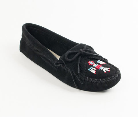 Minnetonka - THUNDERBIRD SOFTSOLE BLACK - 159