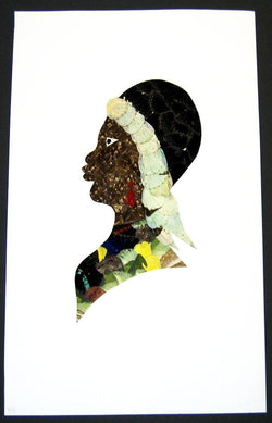 Woman Profile - Unframed W34