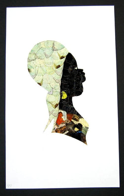 Woman Profile - Unframed W44