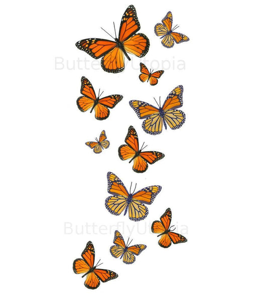 monarch butterfly tattoos