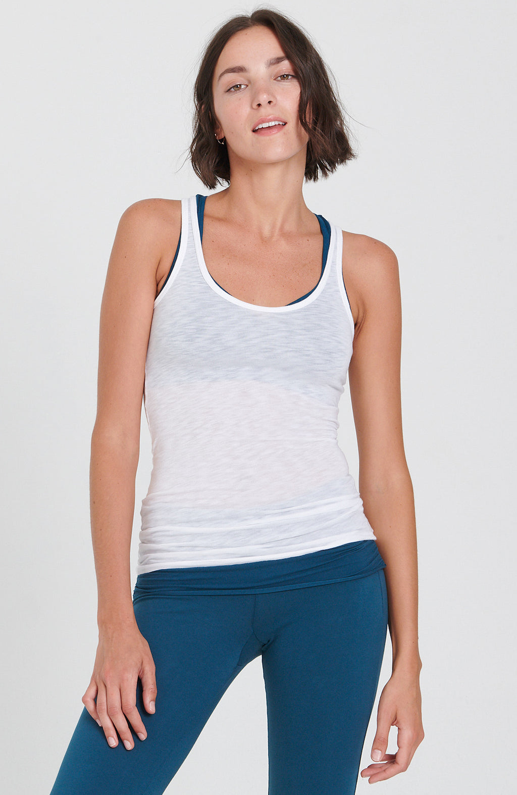 Mindful Tank in White