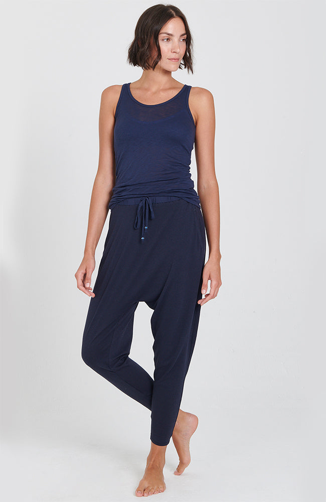 Retreat Pant in Navy Blue