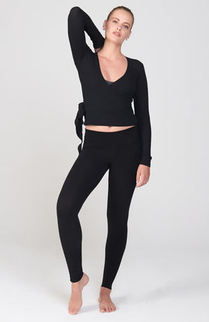 Ideal Wrap in Black