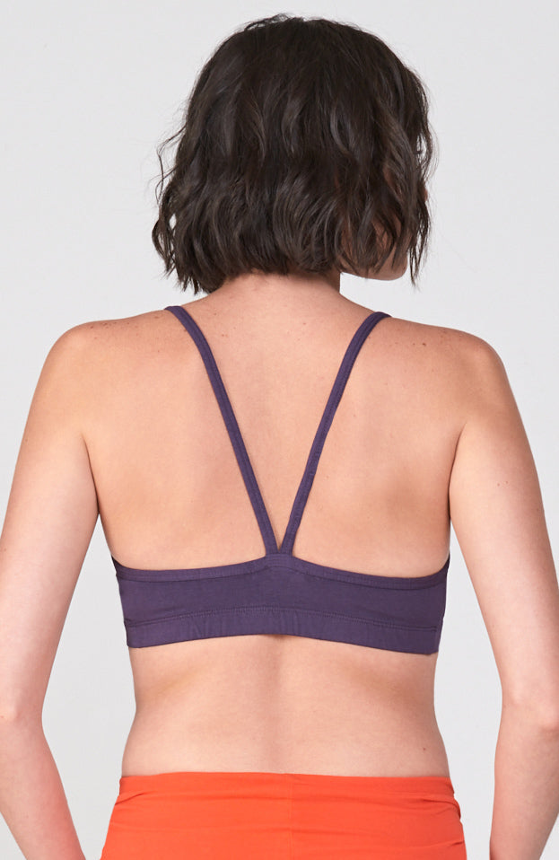 Hatha Bra in Deep Purple