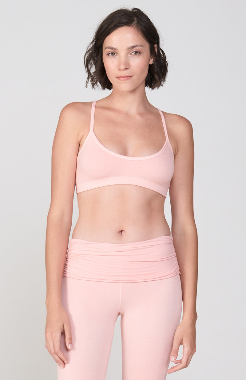 Hatha Bra in Peachy
