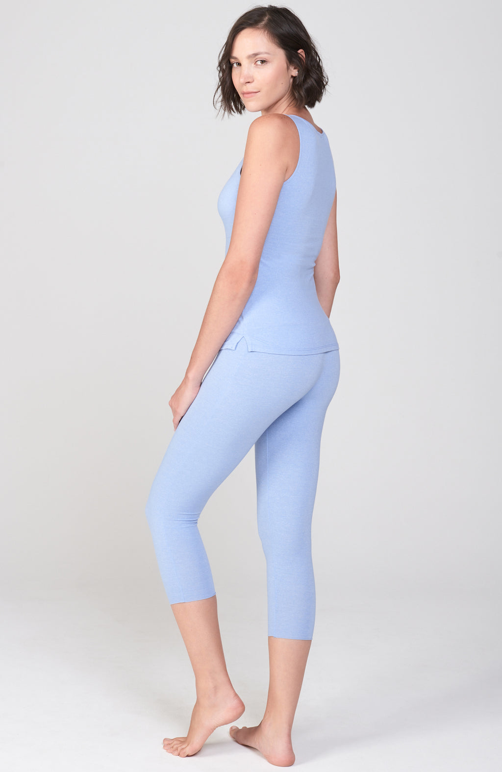 Asana Tank in Blue Moon