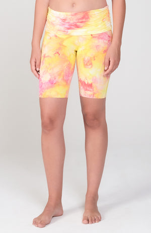 Bliss Biker Short in Sunkiss