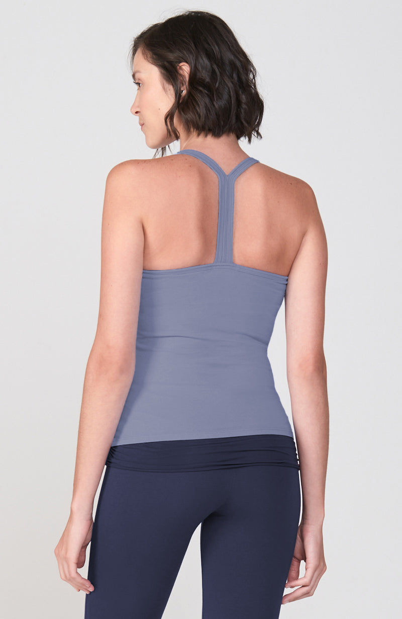 Vinyasa Cami in Denim Muse