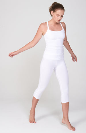 Vinyasa Cami in White