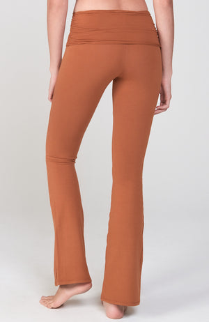 Bootcut Flare Practice Pant in Cognac