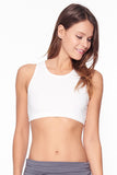 Shanti Crop Top in White