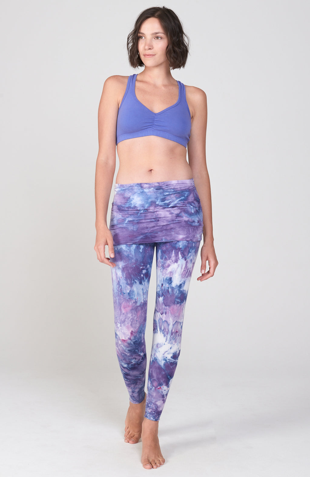 Nomad Legging in Midnight Sky