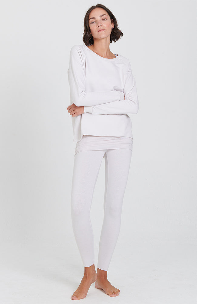 Nomad Legging in Cream