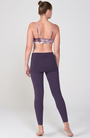 Nomad Legging in Deep Purple