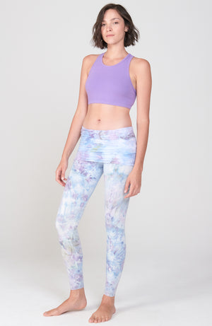 Shanti Crop in Purple Rain