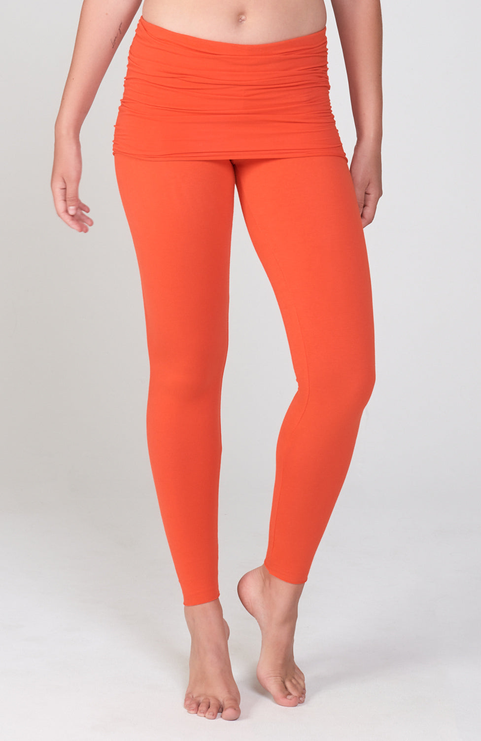 Nomad Legging in Orange Poppy