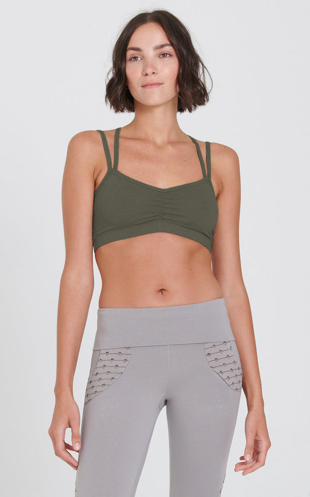 Yogini Bra in Juniper