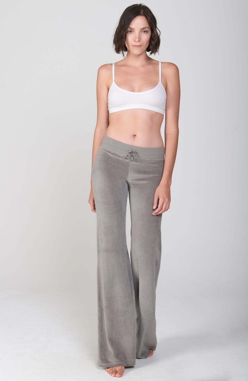 Velour Sutra Pant in Neutral