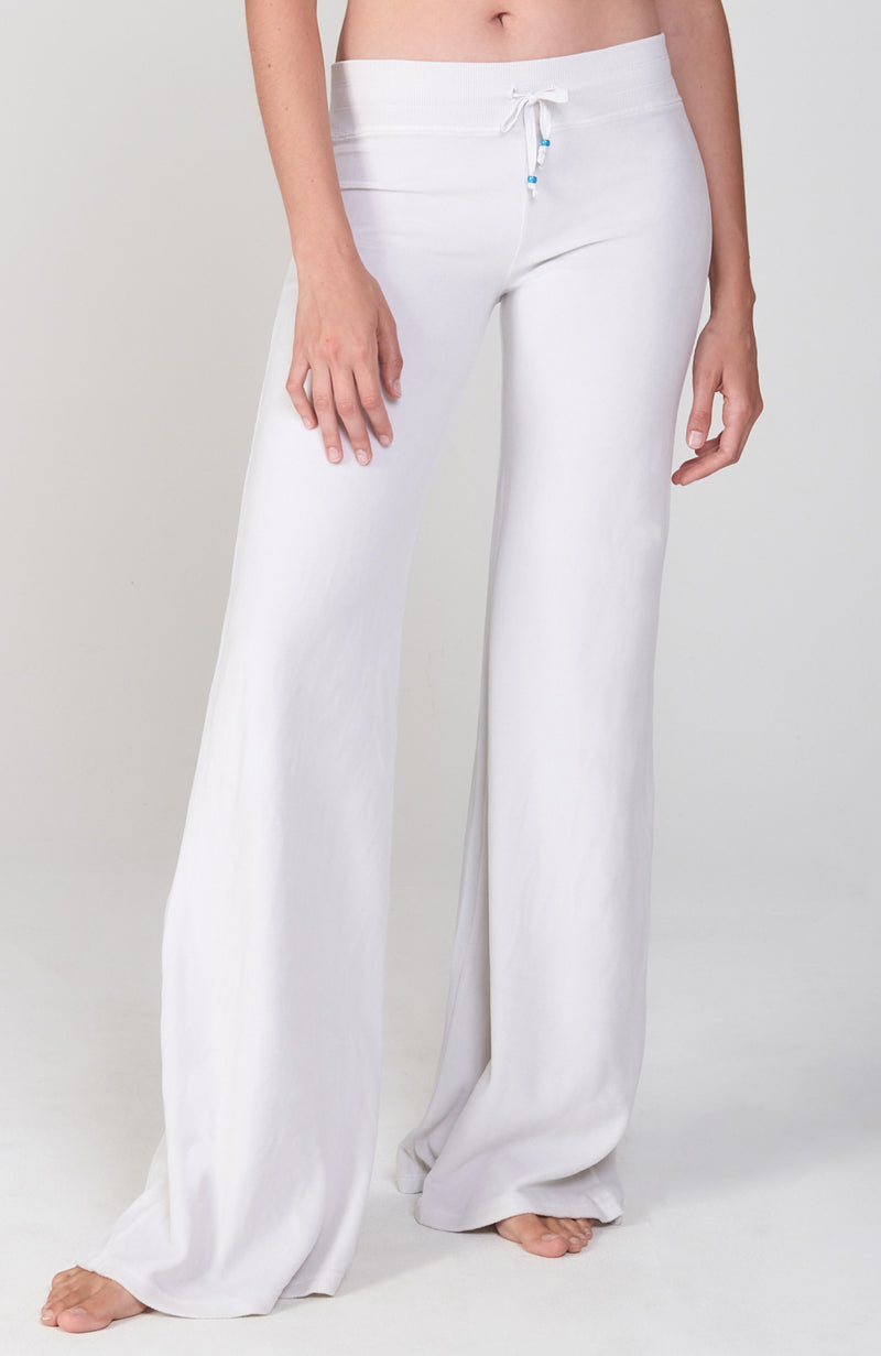 Velour Sutra Pant in Cream