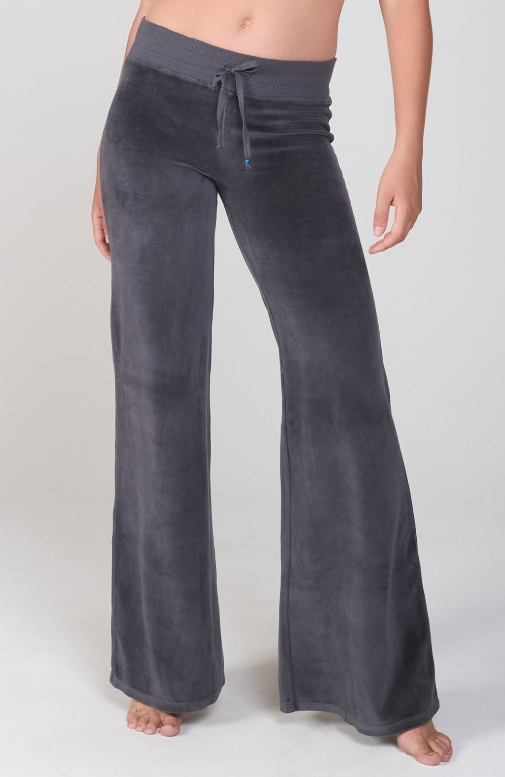 Velour Sutra Pant in Sterling