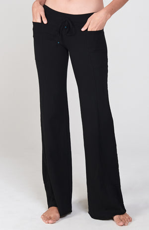 Wave Pant in Black