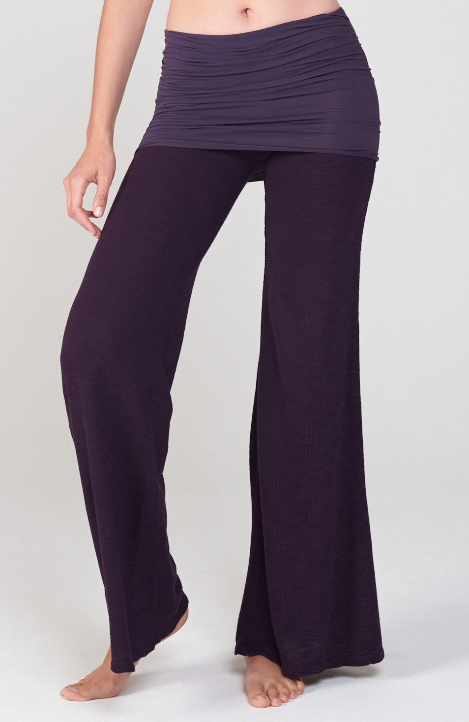 Surf Nomad Pant in Deep Purple