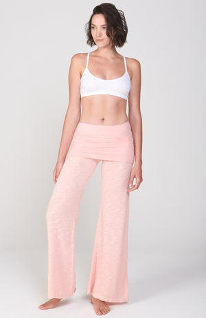 Surf Nomad Pant in Peachy Pink
