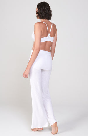 Surf Nomad Pant in Crisp White