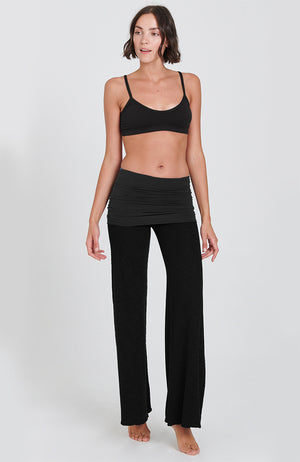 Surf Nomad Pant in Black