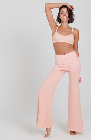 The Nomad Pant in Peachy